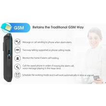 Digoo DG-HAMA Touch Screen 433MHz GSM WIFI DIY Smart Home Security Alarm System Kits Upgrade Compatible with Alexa VS DG-Hosa