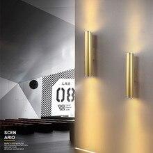 Nordic Home Creative Hotel Designer Wall Lamp LED Gold Living Room Bar Bedroom Wall Light Free