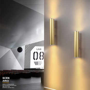 Nordic Home Creative Hotel Designer Wall Lamp LED Gold Living Room Bar Bedroom Wall Light Free Shipping - DISCOUNT ITEM  27% OFF All Category