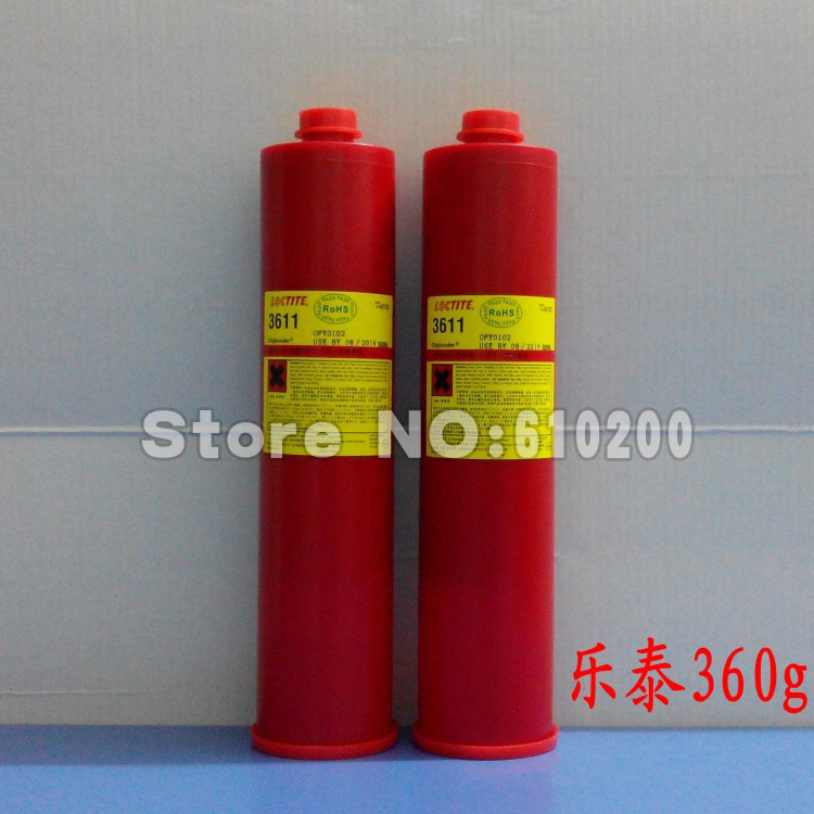 ФОТО Free Shipping! 3611 red glue adhensive 360g for SMT SMD  repair bga Consumables