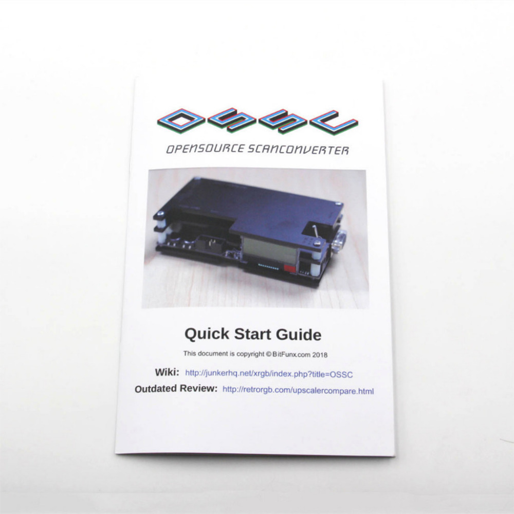 OSSC HDMI Converter Kit for Retro Game Console PlayStation 1 2 one 360 /  Atari Series / Dreamcast / Sega Series   40MR25