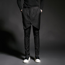 Male high waist casual pants harem pants trousers personalized novelty summer costumes costume