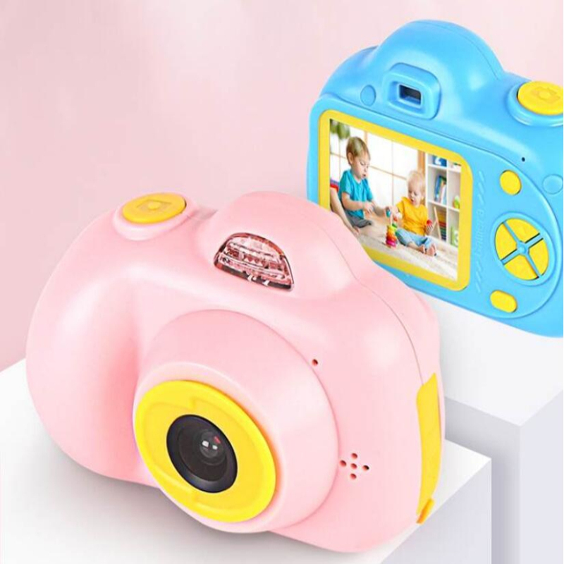 Child Digital Cartoon Recharge Sports Camera Dual/Single 720P Take Vedio Picture Kids Mini Camera Digital Toy Best Kids Gift