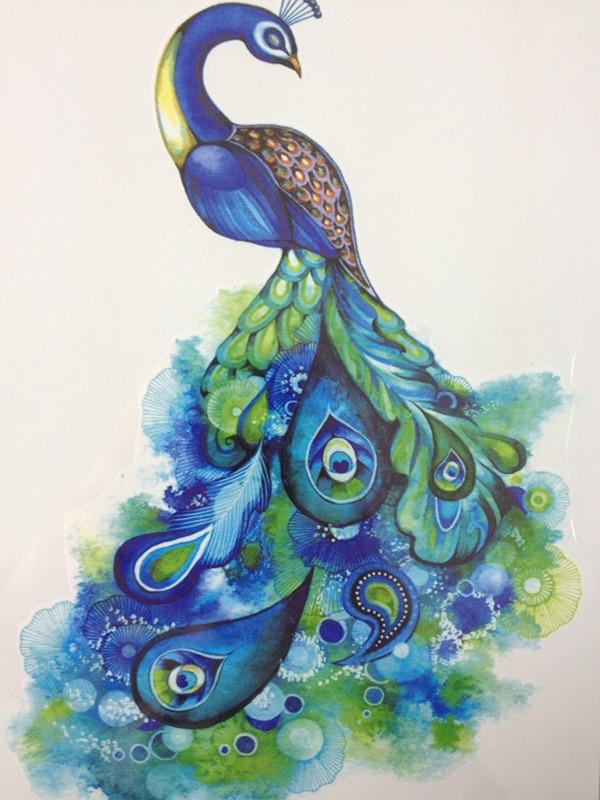 Значение тату павлин - tattoohacom