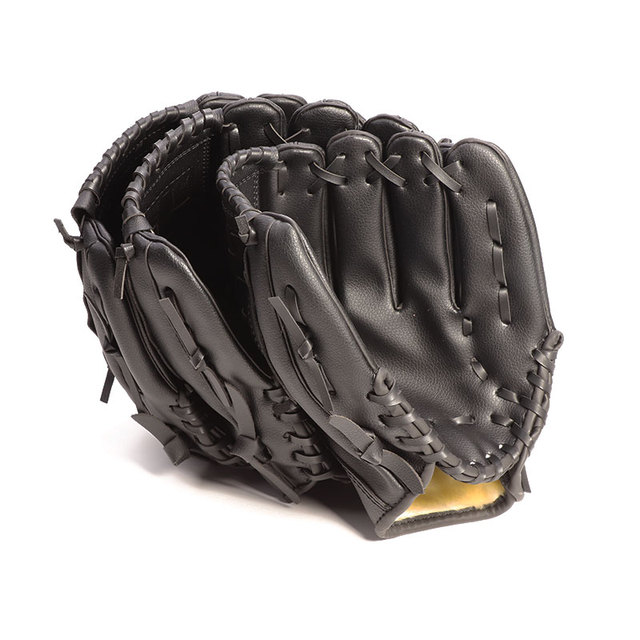 Outdoor Sports Three colors Baseball Glove  Softball Practice Equipment Size 10.5/11.5/12.5 Left Hand for Adult Man Woman Train 2