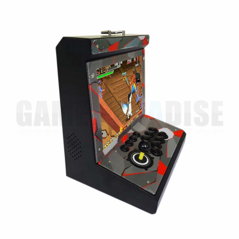 metal Case Family Mini Arcade game console 1 player Arcade Game Machine with 15 inch LCD 960/1388 in 1 games board 2