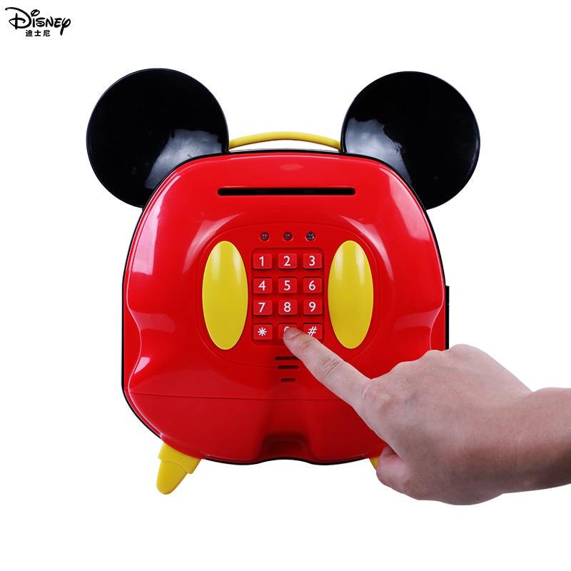 Juguetes Educativos para estudiantes para niñas con bloqueo de contraseña de Mickey alcancía para niños-in Juguetes de dinero y banca from Juguetes y pasatiempos    3