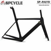 Spcycle 2018 NEW Disc Brake Carbon Road Bike Frame UD Black Aero Full Carbon Road Bicycle