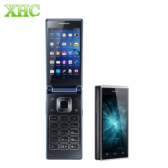 VKworld T2 1GB/8GB WCDMA 3G Dual-screen Dual-ear Business Flip Phone 4.0''Physical Keyboard Android 5.1 MTK6580 Quad Core 1.3GHZ