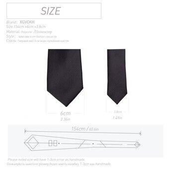 Men Ties Solid Color 6CM Slim tie Necktie Men's Business Wedding BowTie Male Legame Gift Gravata England JACQUARD WOVEN