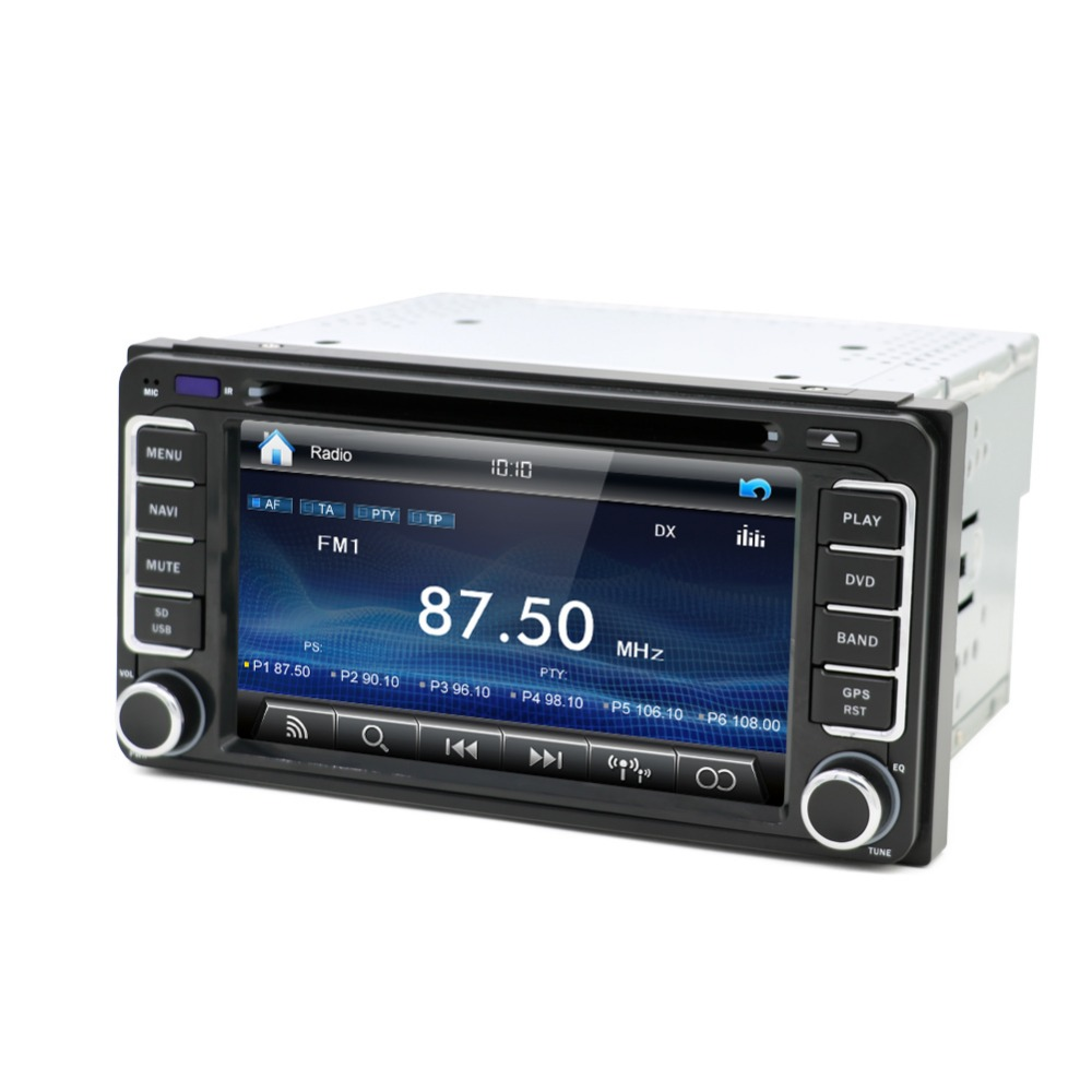 2 DIN voiture DVD GPS pour Toyota Terios ancienne Corolla Camry Prado RAV4 radio universelle CD Radio stéréo vidéo dans voiture lecteur multimédia