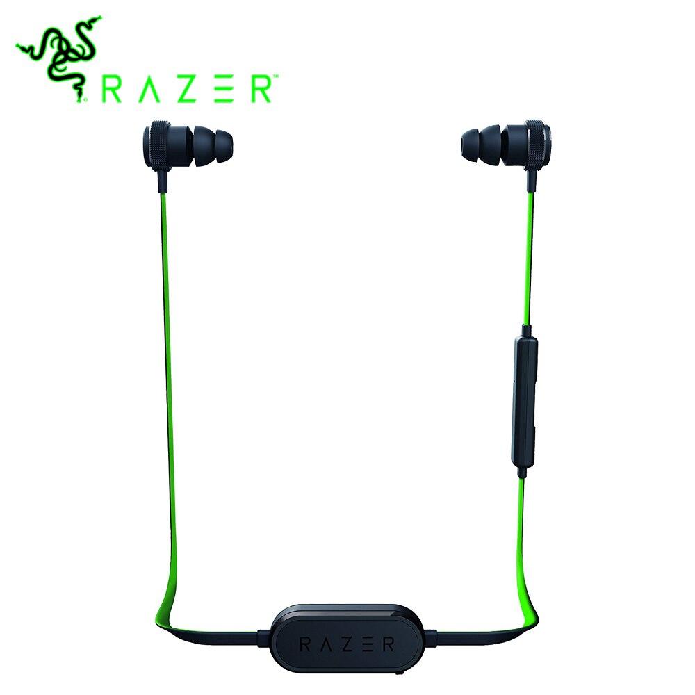 Razer Hammerhead BT écouteurs sans fil Bluetooth écouteur avec lumière de jeu musique sport Portable 8 heures écouteurs pour iPhone