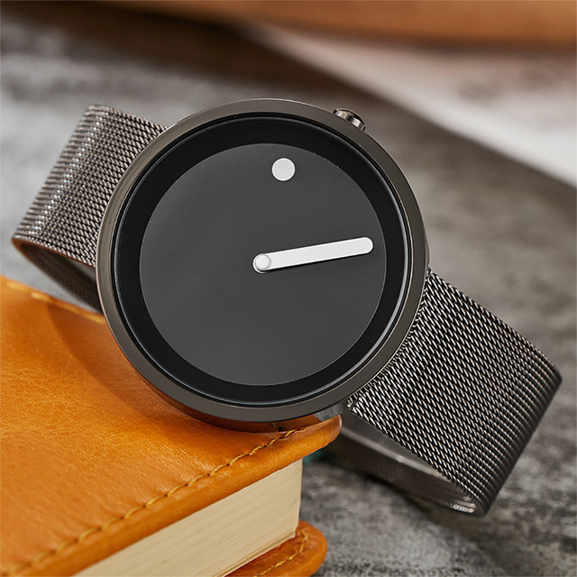 Unisex Minimalist Creative Watches For Men Women 2017 Fashion Simple Watches Sports Outdoor Quartz Wristwatches Couple Watches