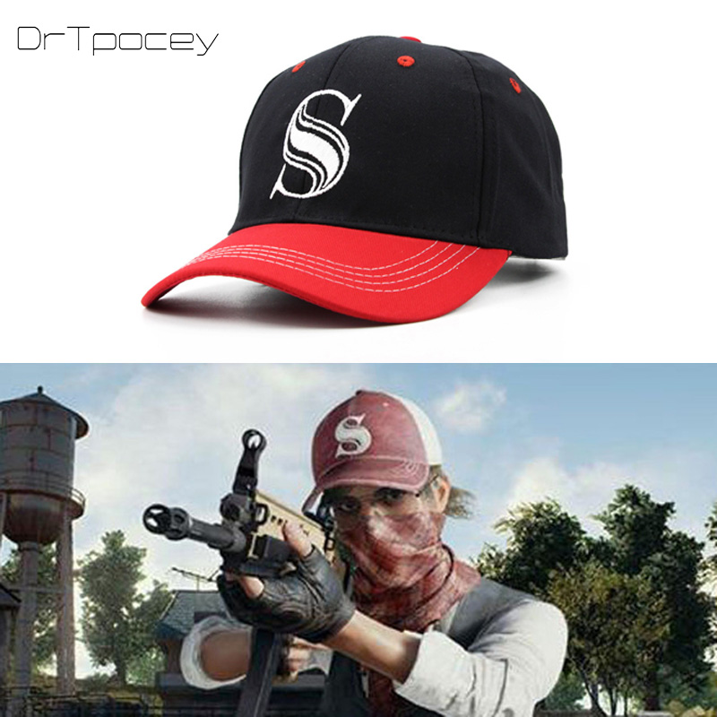 Fashion PUBG S Embroidery   Baseball     Cap   Unisex Game Playerunknown's Battlegrounds Winner Chicken Dinner Tactical Snapback Hat