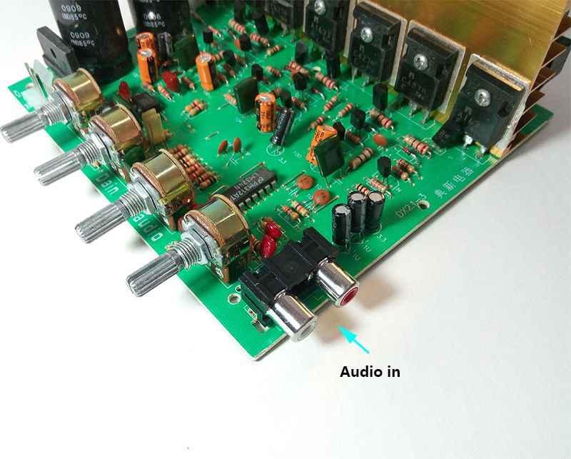 240w haute puissance nouvelle mise à jour Double AC 24V en 2.1 3 canaux basse stéréo amplificateur conseil haute puissance numérique Subwoofer livraison gratuite