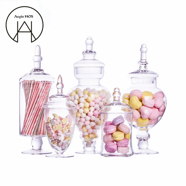 Decorative Glass Sweets