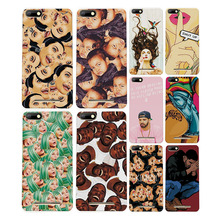 Colorful Painted Cartoon Grid Phone Cases Covers For BQ Strike BQS 5020 Silicon Fundas Capa For BQ Strike BQS5020 Case free gift