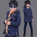 Новый Корейский Зимой детские Зимние Куртки Для Мальчиков Вниз Пальто Куртки Теплый Хлопок Мальчики Куртка Snowsuit Толщиной Дети Верхней Одежды одежда