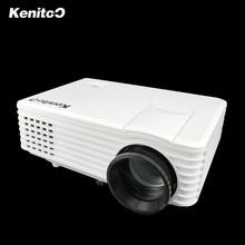 Mini LED Projector Home Theater 3D Projector Support Red/blue Format Moive 180ANSI Lumens Brightness With 4G U-disk Free Gift