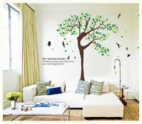 XL Size Background Wall Decoration For Living Room Stickers Creative Design New Fashion