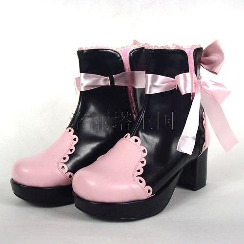 ФОТО Sweet Lolita Princess cos Classic lolita dress boots princess boots 9866b  cosplay shoes
