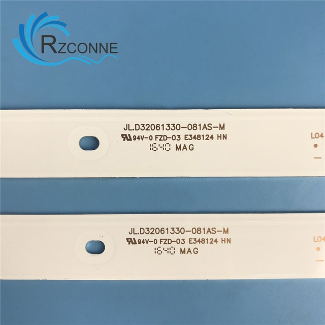 580 мм светодиодный фонарь 6 ламп для ТВ JL.D32061330-081AS-M FZD-03 E348124 HM 6 V/светодиодный Вход