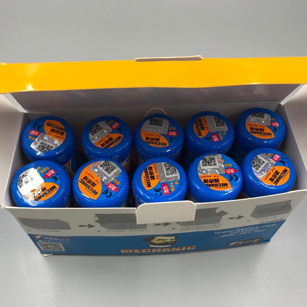 New Packing For MECHANIC XG-50 (MCN-300)Solder Paste Tin Cream Flux Paste Sn63/Pb37 25-45um XG-500 (XG-50)