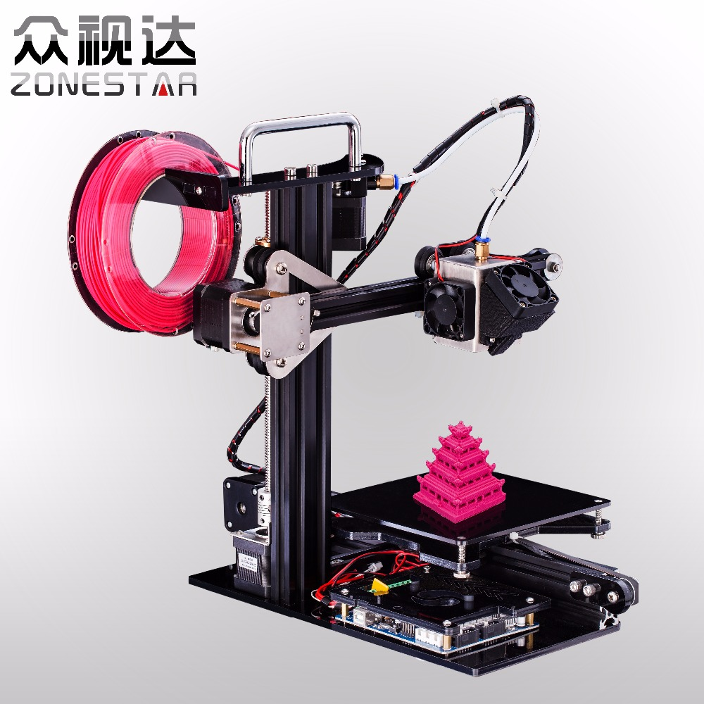 2016 Newest Fast Assemble Easy use High-Quality 3D Printer DIY Kit for Education&Personal for Children Teaching Free Shipping