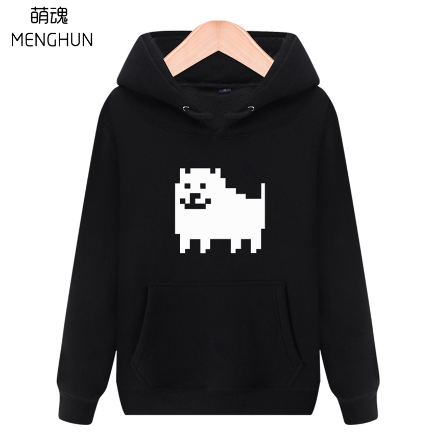 Lovely mini dog printing undertale inspired game fans warm hoodies game fans hoodies Haddo dog costume ac711