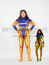 3D Print X men Jean Grey X-Men Heroes Party Cosplay Costume Halloween Superhero Suit free shipping 3d printting female x men dark phoenix superhero costume new jean grey cosplay costume tight catsuit bodysuit