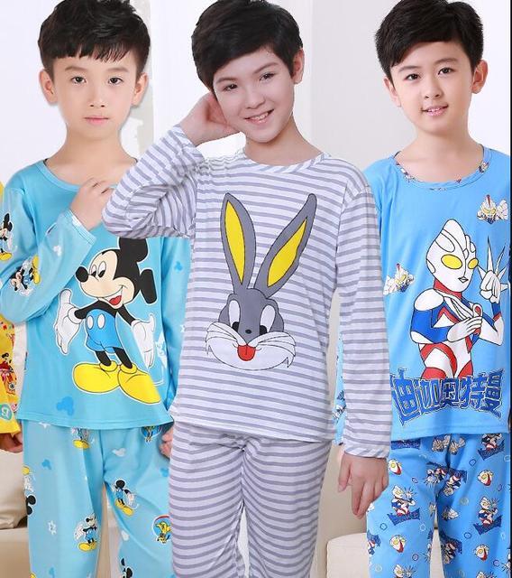 b6a2ae51d 3 12Y Pajamas kids Cartoon Boys Sleepwear Girls Pyjamas Leisure ...