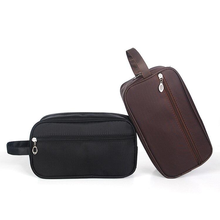 Korean Men Cosmetic Bag Travel Large Capacity Waterproof Handbag Portable Storage Organizer Case