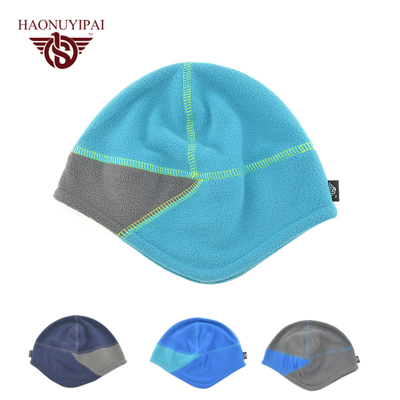 Autumn Winter Skullies Beanies Hats For Mens Bonnet Cap Casual Outdoor Solid Hip-Hop Gorros Fashion Ski Snow Ear Warm Male Cap skullies