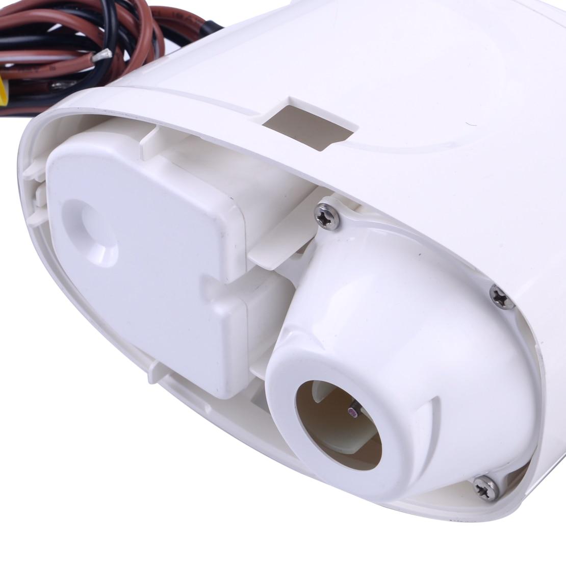 Pompe à eau automatique Submersible automatique de cale de CITALL 12 V 1100GPH 3.2A avec le commutateur de flotteur pour les coques marines de bateau/réservoirs d'appât de cale - 4