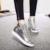 Ekoak Nuevo 2016 fashion aumento de la altura zapatos mujer otoño invierno plataforma zapatos casuales zapatos de mujer botines con Piel