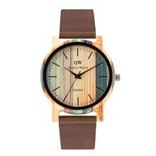цена Wooden Photo Personalized Watches For Men And Engraved Logo Quartz Gift Okwish  Bamboo 6 Wood Watch онлайн в 2017 году