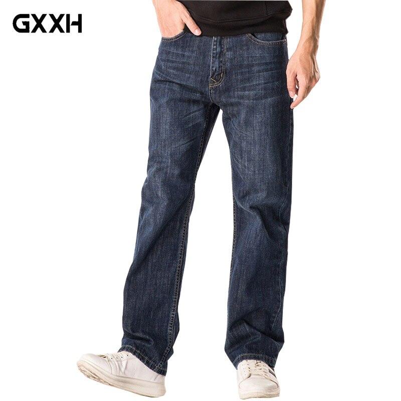 De Décontracté 48 Hommes medium Premium Nouvelle Pantalon Blue 2018 Femmes Lâche Printemps Automne Jeans Blue2 Denim Blue Taille nostalgic light Et Droite Black Classique cWcvBCw