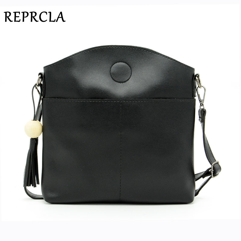REPRCLA Fashion Tassel Women Bags High Quality Pu Leather Messenger Shoulder Bag Designer Ladies Crossbody Bags With Wood BeadREPRCLA Fashion Tassel Women Bags High Quality Pu Leather Messenger Shoulder Bag Designer Ladies Crossbody Bags With Wood Bead