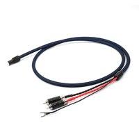 Бесплатная доставка шт. Выборг тонарм кабель 5 Pin DIN к RCA Phono кабель с 5N OFC Серебряная пластина проводник