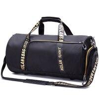 2017 Mini Women Sport Bag Waterproof Nylon Large Gym Bag Letter Outdoor Fitness Bag Women Basketball Soccer Multifunctional Bag