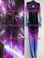 New 3D Printing Sombra Cosplay Costume Lycra Sombra Zentai Suit Halloween D.va Mercy Widowmaker Tracer Girls Women Lady Catsuit