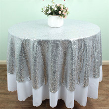 size available72 inches round sequin tablecloth glitz silver sequin tablecloth for wedding decoration