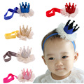 Newborn Baby Headbands Lace Pearl Tiara Hair Band Hair Accessories Children Headband Kids Girl Princess Headwear VCO36 P40