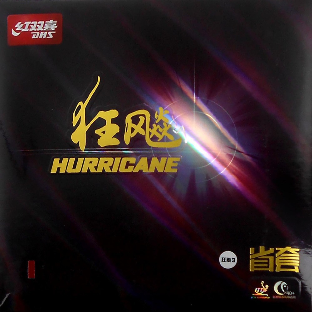ФОТО DHS Hurricane3 Provincial Pimples In Table Tennis PingPong Rubber rubber with Orange Sponge