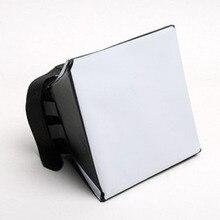 Портативный Omni Bounce софтбокс комплект фотографии Рассеиватель Вспышки для Canon Pentax DSLR Speedlite Flash