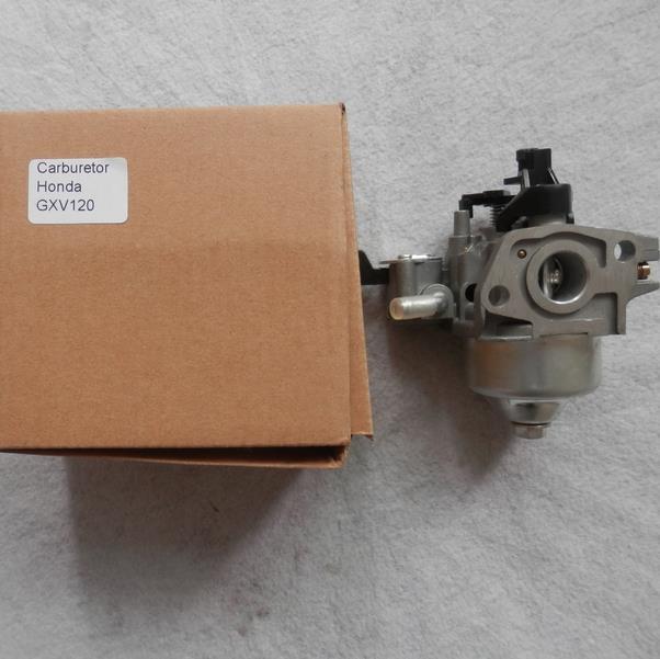 Montagem do Carburador Vertiacal do Ciclo Cortador de Grama Fits Honda Gxv120 118cc 4hp 4 Carb Assy Eixo Peças p – n 16100-ze6-w01 16 mm Ohv