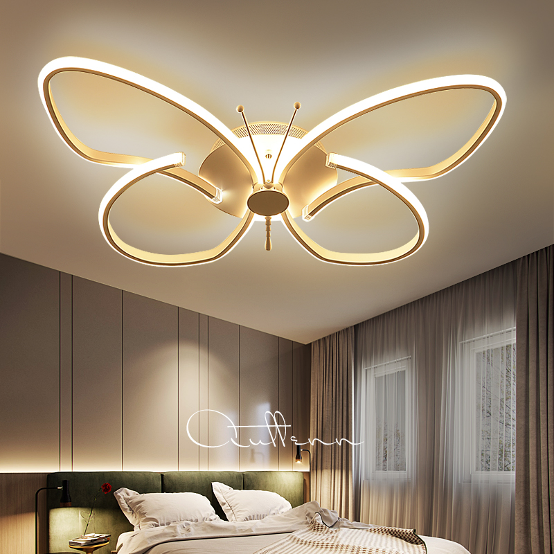 Modern minimalist Butterfly Led ceiling lights plafond lamp for home living room lights ceiling light fixture Kitchen lamps