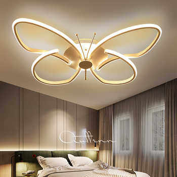 Modern minimalist Butterfly Led ceiling lights plafond lamp for home living room lights ceiling light fixture Kitchen lamps - DISCOUNT ITEM  12% OFF All Category