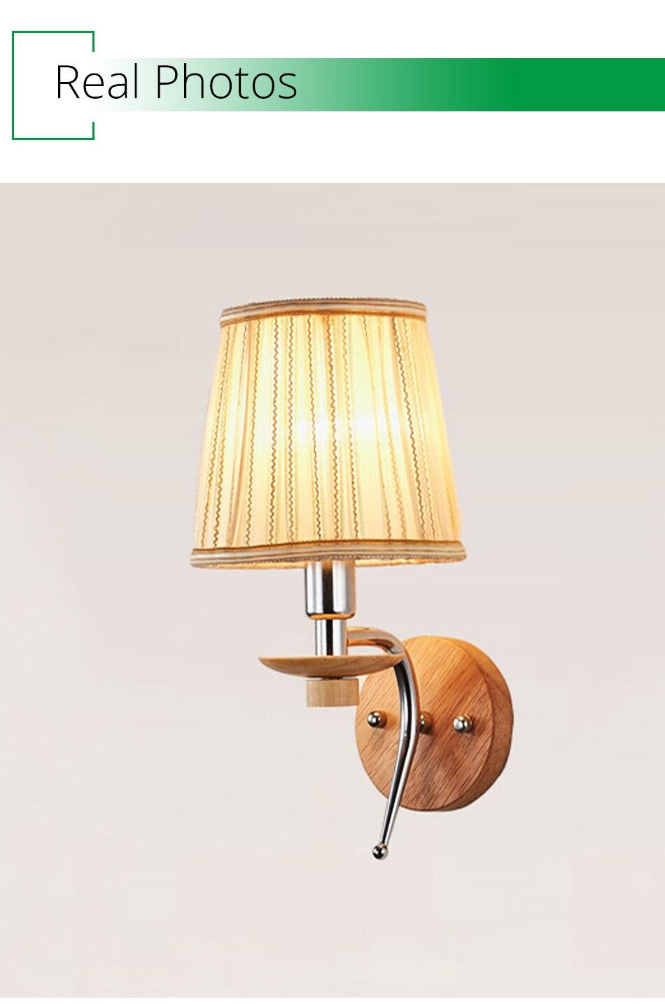 90 260v white e14 wall lamps aluminum bathroom living room indoor lighting modern wall light