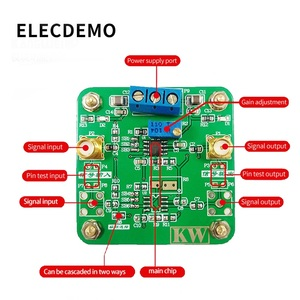 Image 3 - OPA843 מודול Wideband נמוך עיוות אחדות רווח ייצוב מתח משוב מבצעי מגבר פונקצית הדגמת לוח